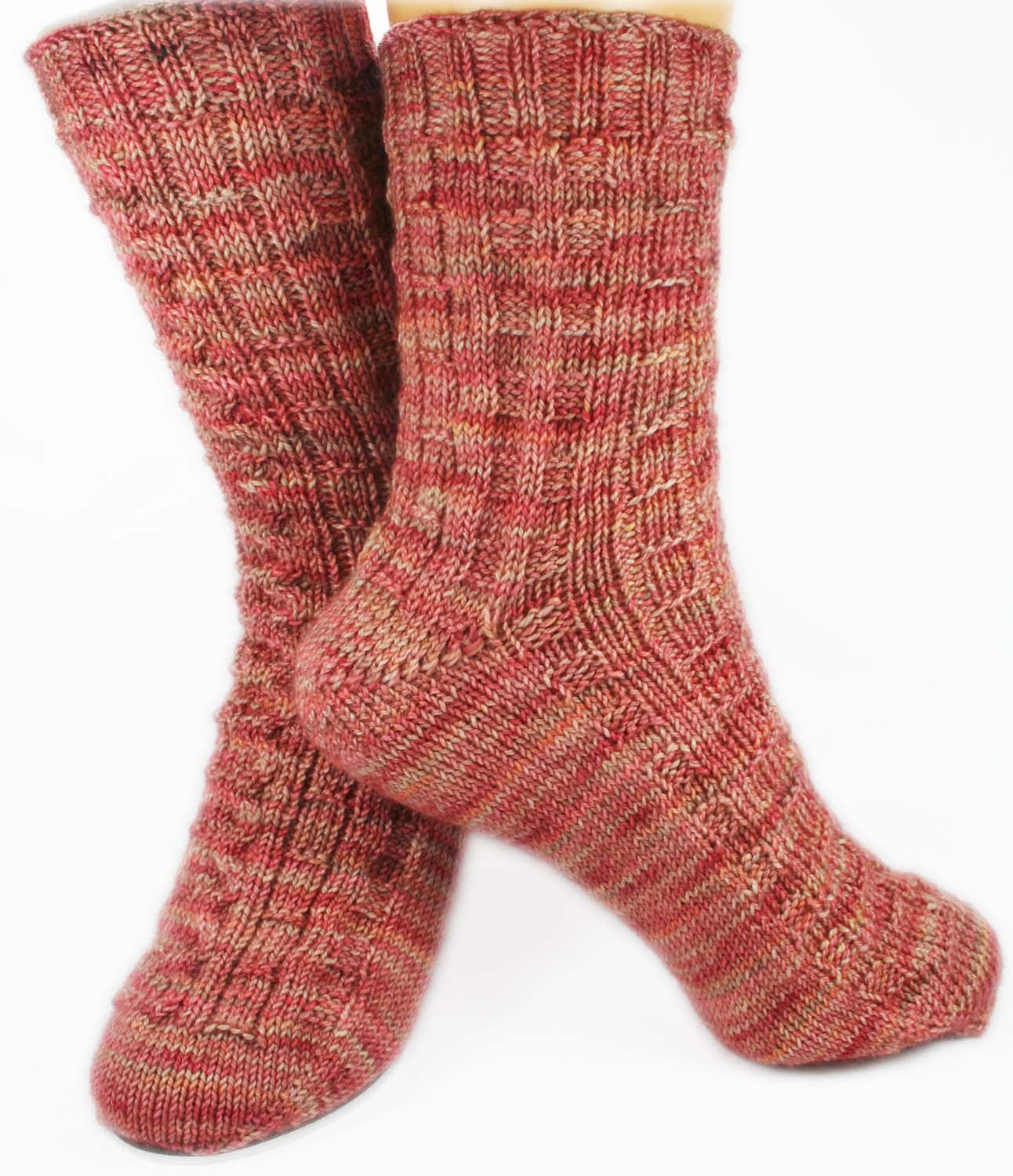 KNITTING PATTERN for BoardGame Socks - Charted Sock pattern digital download