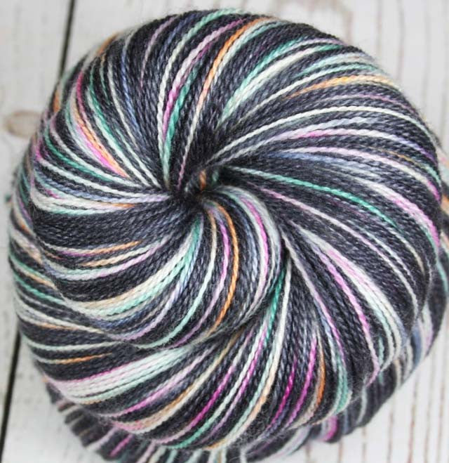 FILMSTRIPS: Superfine Merino-Silk - Hand dyed Lace Weight Yarn - Film inspired yarn