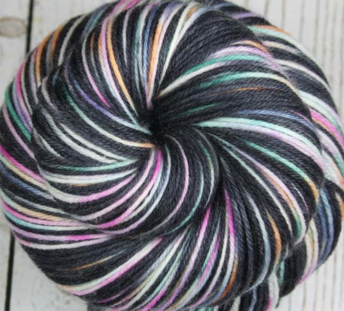 FILMSTRIPS: Superwash Merino Wool-Nylon-Cashmere - Hand dyed sock yarn - Variegated sock yarn