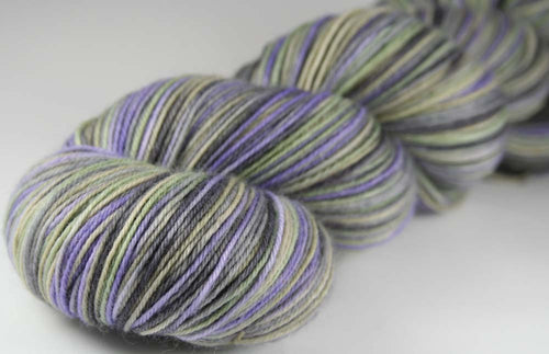 GODFATHER/GODSON DRAGON: SW Merino-Nylon - Hand dyed Variegated sock yarn