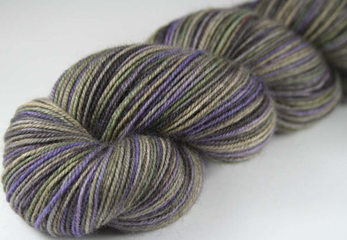 GODFATHER/GODSON DRAGON: SW Merino-Yak-Nylon Sock yarn - Hand dyed Variegated yarn