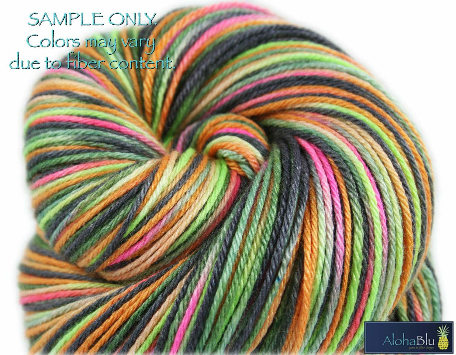 "Dyed to Order: ""HONOLULU FIREWORKS"" colorway - Sock yarn - Hand dyed yarn - Variegated yarn"