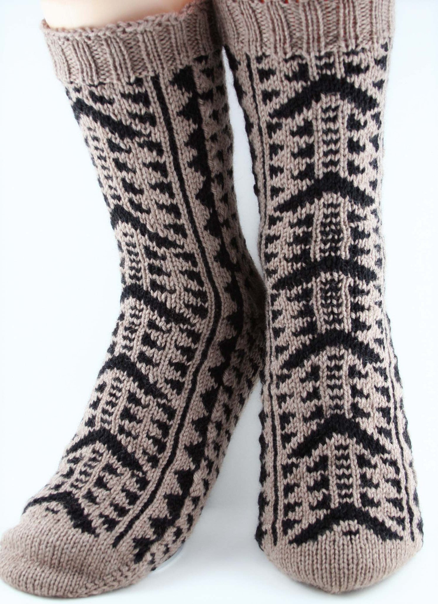 KNITTING PATTERN for Kane Socks - Charted Colorwork Sock pattern ...