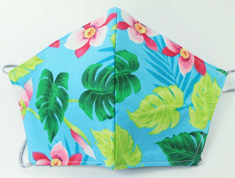 MASK: Teal in the Tropics - Small