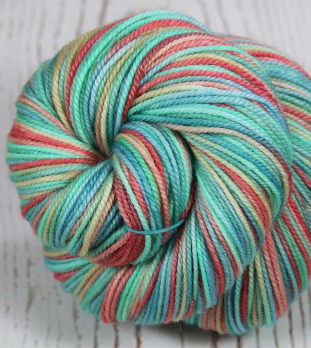 MONACO - MONTE CARLO: Superwash Merino-Nylon - Sport weight - Hand-dyed Variegated yarn - Masters Collection