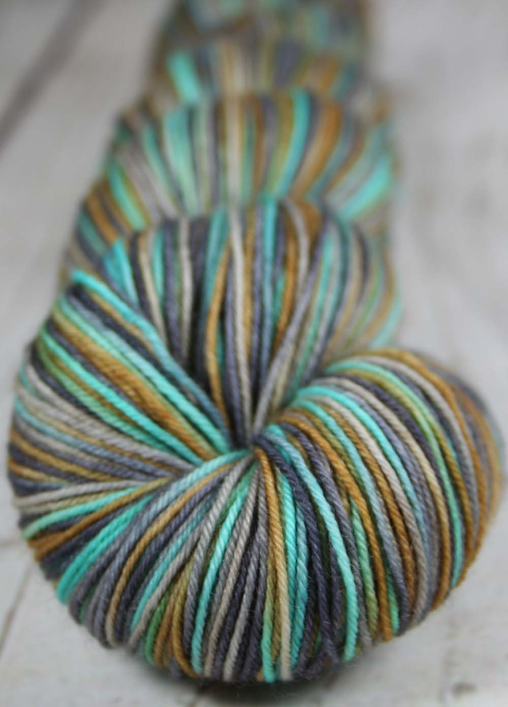 MY FRIEND: SW Merino-Nylon - Hand dyed - Variegated Sock yarn
