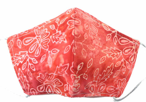 MASK: Carnation Swirls - Small