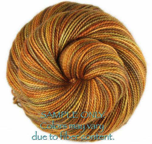 "Dyed to Order: ""PIETA ALCOVE"" colorway - Sock yarn - Hand dyed - Variegated yarn - Vatican inspired yarn"