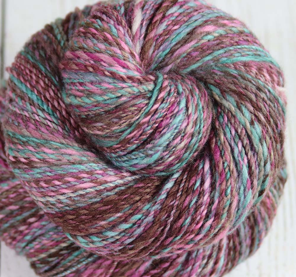OH LOLLY LOLLY - Hand dyed, hand spun fingering weight yarn