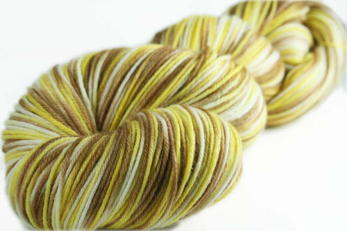 PRETZELS & BEER: Superwash Merino Wool-Nylon-Cashmere - Hand dyed sock yarn - Variegated sock yarn