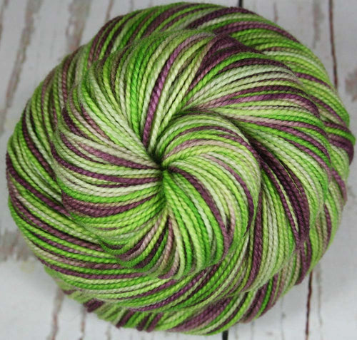 Reserved for LY - WINE ON A VINE: Superwash Merino Wool-Nylon Fingering/Sock yarn - Hand dyed sock yarn - Variegated yarn
