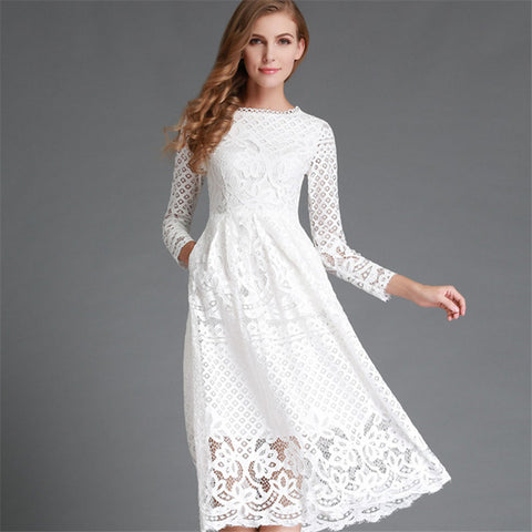 BellFlower Lace Dress/2 Color Options
