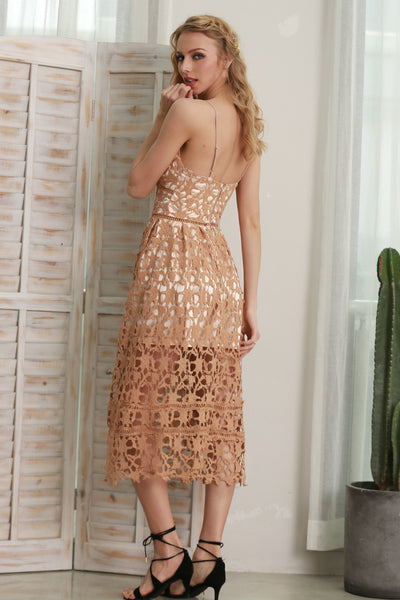 Lace Lined Summer Dress