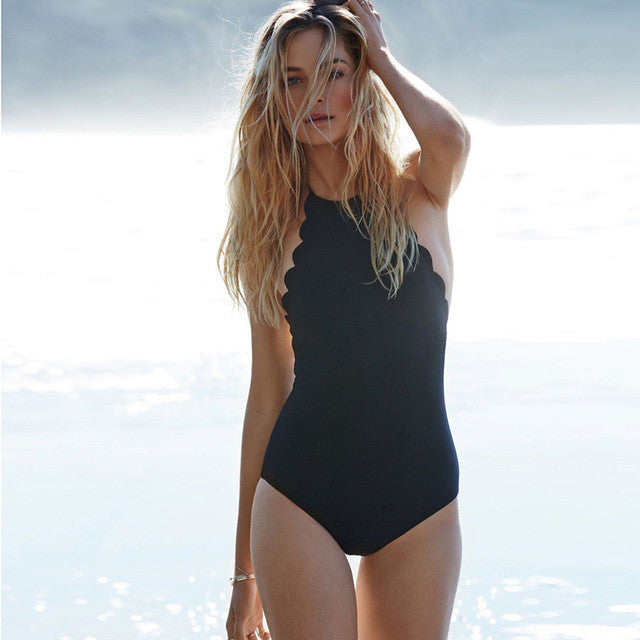 Scolloped Edge One Piece/multiple colors