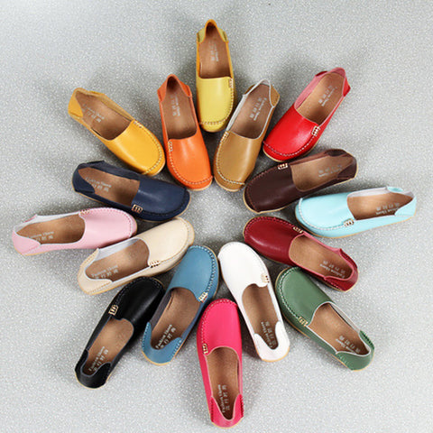 Ladies Side Clasp Loafers