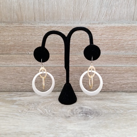 Gold Filagree Earring
