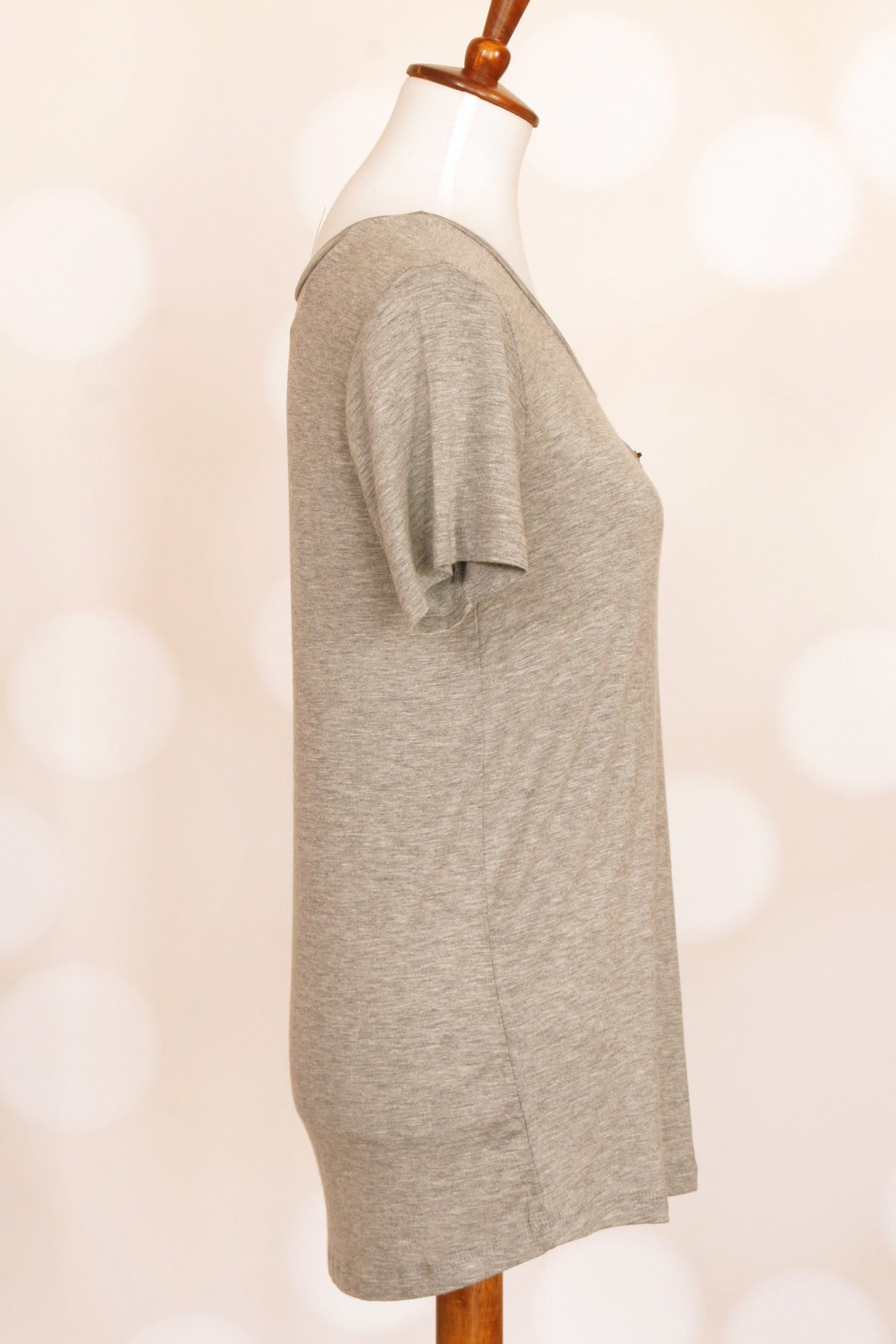 Grey Zippered Pocket Shirt - Grandir Fashions