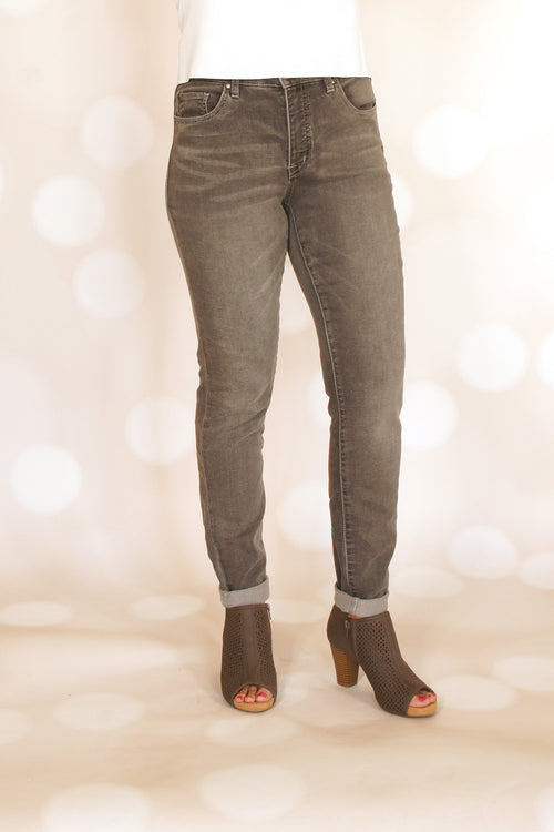 Tribal Grey Knit Jegging - Grandir Fashions