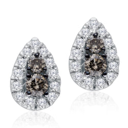 White Gold Coco & White Diamond Eternal Earring