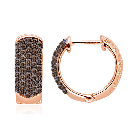 Rose Gold Coco Diamond Eternal Earrings