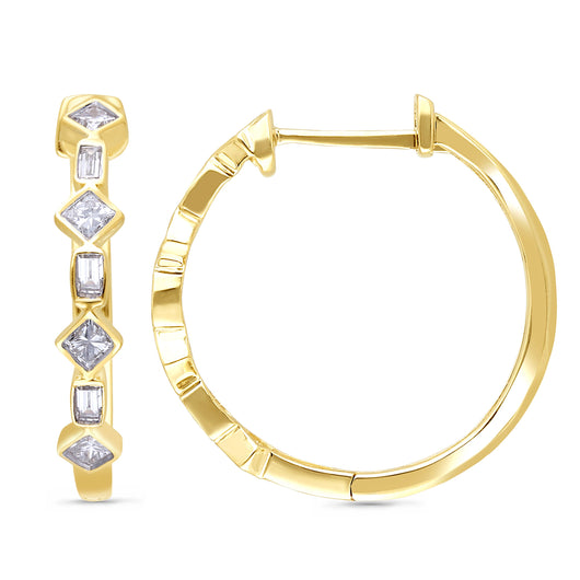 Yellow Gold Diamond Legendary Earrings