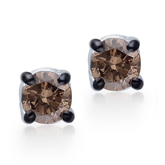 White Gold Coco Diamond Eternal Stud Earrings