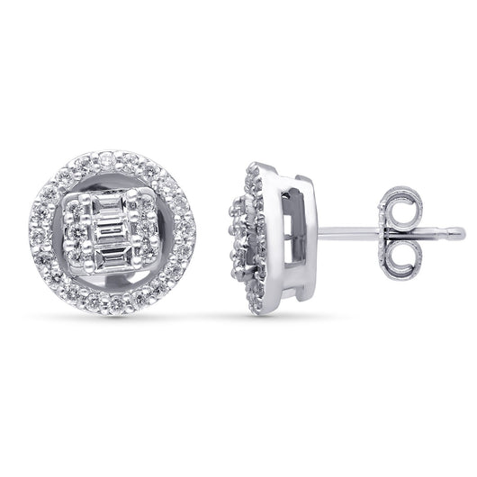 White Gold Diamond Legendary Earrings