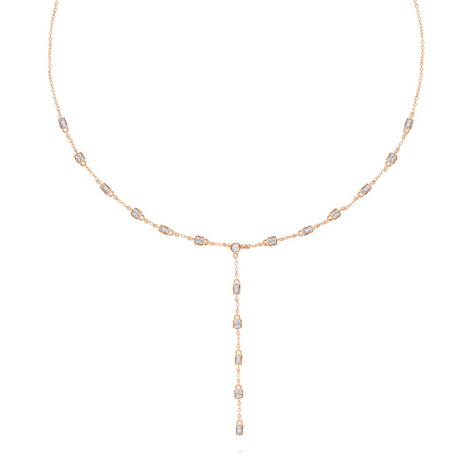 Rose Gold Diamond Legendary Necklace