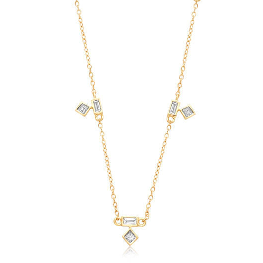 Yellow Gold Diamond Legendary Necklace
