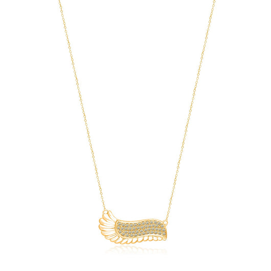 Eternal Necklace with Yellow Diamonds