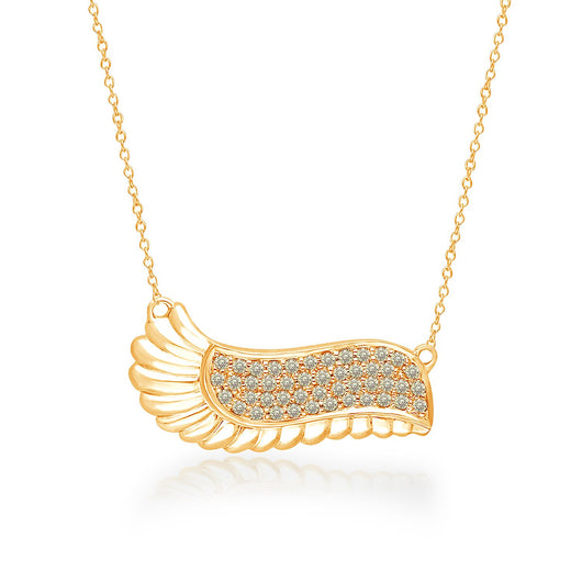 Yellow Gold Yellow Diamond Griffiness Necklace