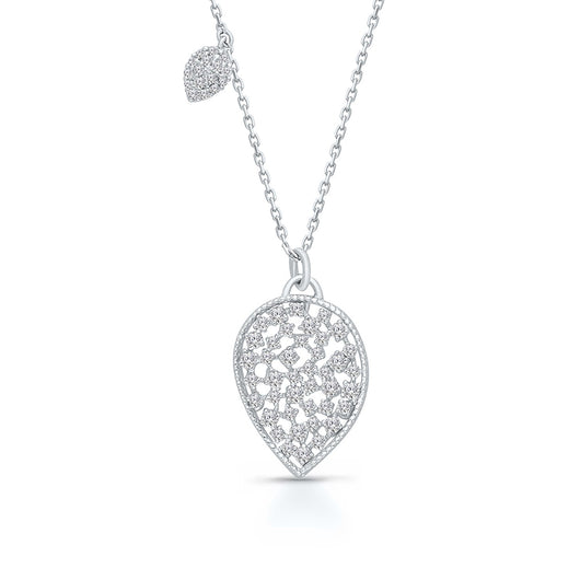 White Gold Diamond Eternal Necklace