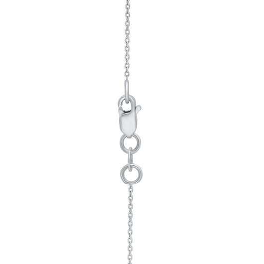 White Gold Coco & White Diamond Eternal Necklace