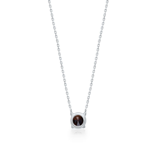 White Gold Coco Diamond Eternal Necklace