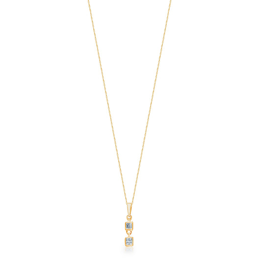 Yellow Gold Diamond Legendary Pendant