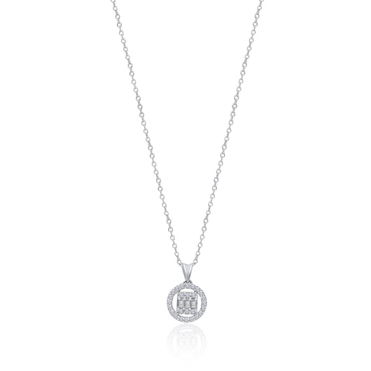 White Gold Diamond Legendary Pendant