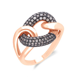 Rose Gold Coco Diamond Eternal Ring