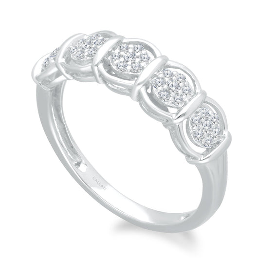 White Gold Diamond Eternal Ring