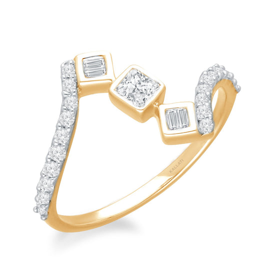 Yellow Gold Diamond Legendary Ring