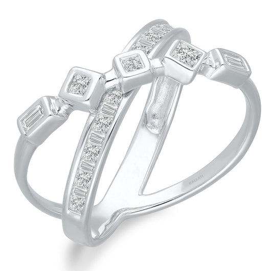 White Gold Diamond Legendary Ring