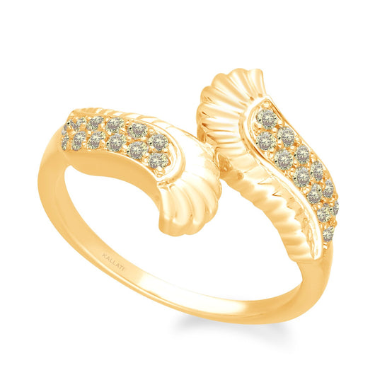 Yellow Gold Yellow Diamond Griffiness Ring