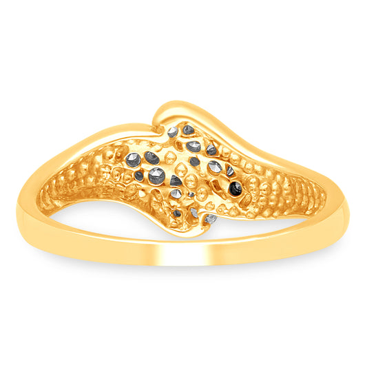 Yellow Gold Diamond Eternal Ring
