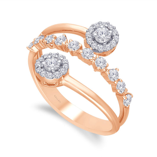 Rose Gold Diamond Eternal Ring