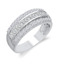 White Gold Legendary Diamond Ring