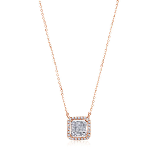 Two Tone Gold Diamond Legendary Necklace