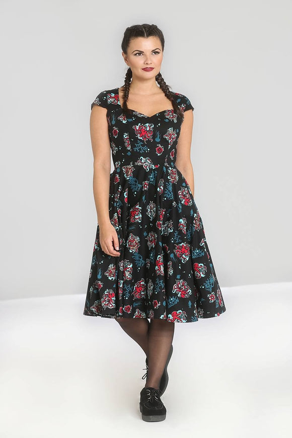 'Unleash The Kraken' Swing Dress