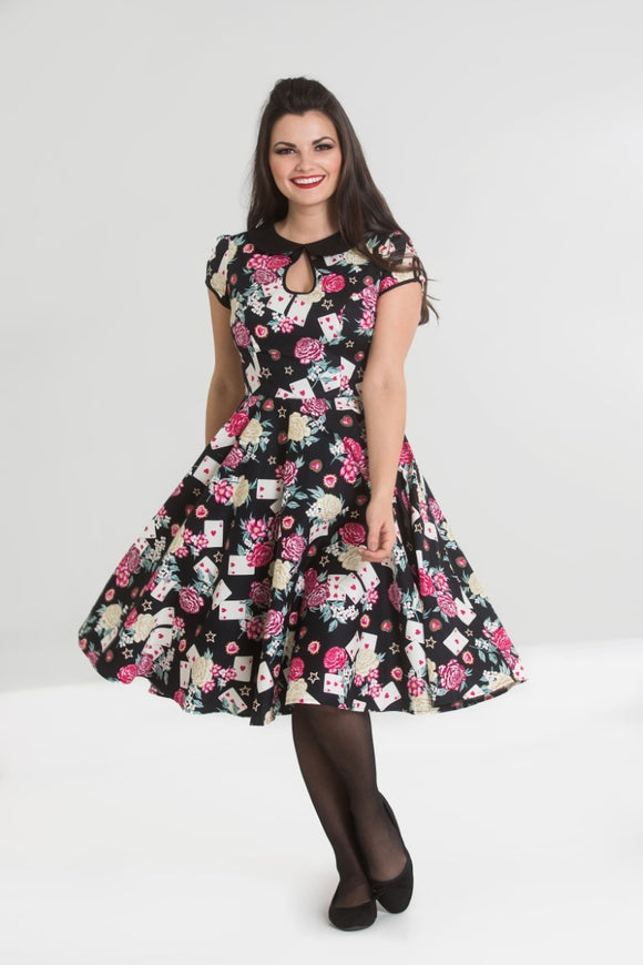 'Queen of Hearts' Swing Dress