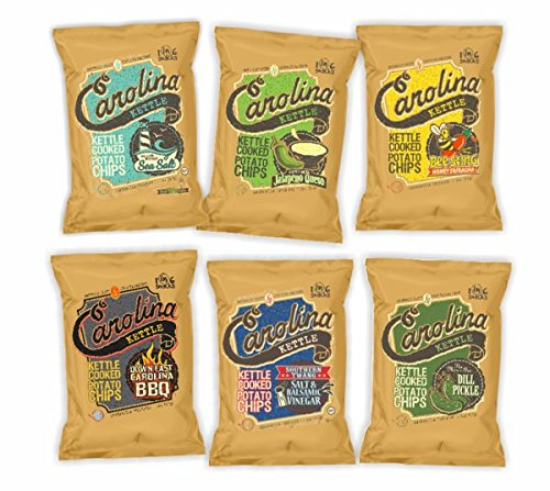Case of 20 2 oz. bags Variety Pack Kettle Cooked Potato Chips
