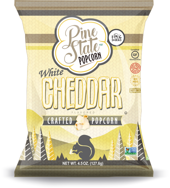 Case of 12-6 oz White Cheddar Popcorn