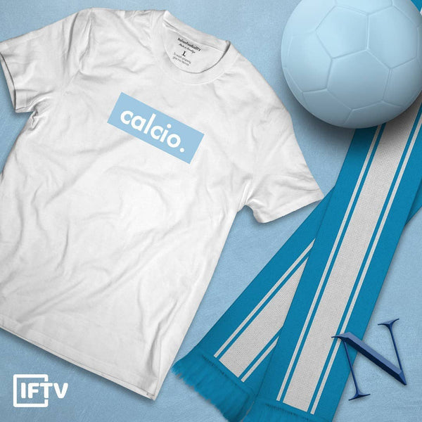 Light Blue Calcio Tee